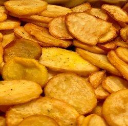 Cartofi rondele prăjiți