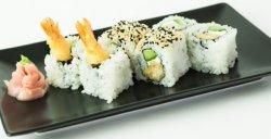 Roll cu crevete tempura