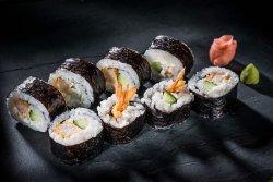 Roll cu crevete tempura XL