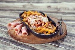 CartoFiori cu bacon și mozzarella