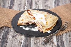 Crepes cu șuncă și mozzarella image