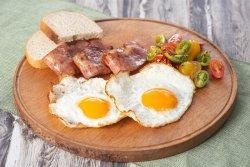 Ochiuri cu bacon image