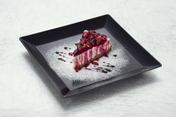 Raspberry cheesecake image
