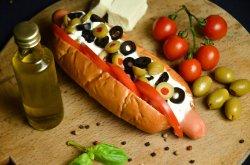 Hot Dog Grecesc