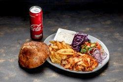 Kebab de pui la farfurie image