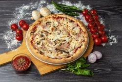 Pizza Prosciutto e funghi 40 cm image