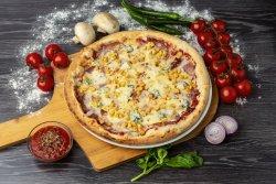 Pizza Quattro formaggi extra 32 cm image