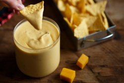 Chips & HomeMade Queso  image