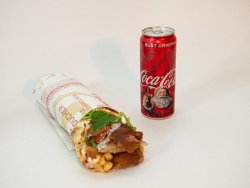 Shaorma vită mare + Coca Cola image