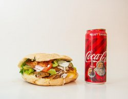 Kebap vită mic + Coca Cola image