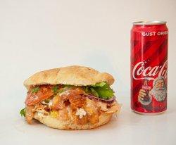 Kebap pui mare + Coca Cola image