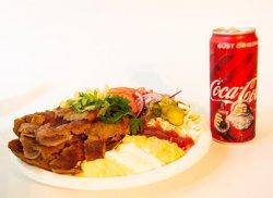Shaorma mixt + Coca Cola image