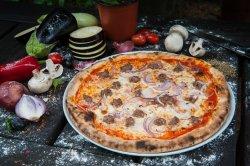 Pizza Salsiccia e Cipolla