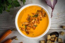 Supă cremă de legume cu pui  image
