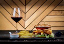Meniu fried chicken burger image
