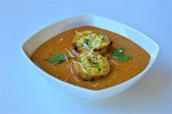Curry vegetarian- Awadhi Dum Aloo Curry image