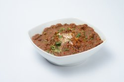 Curry vegetarian- Baingan Ka Bhartha image