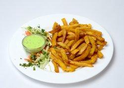 Cartofi prăjiți indieni vegani image