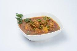 Curry cu porc- Porc Madras
