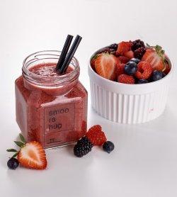 Berry Detox Smoothie / Suc pentru detoxifiere cu fructe de pădure