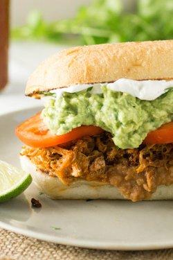 Carnitas Sandwich / Sandwich de Porc (Pulled Pork)