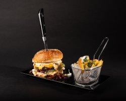 Coleslaw Burger  image