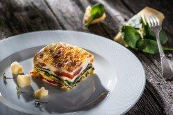 Lasagna cu foi de casa Verdure image
