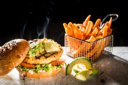 New York Salmon Burger image