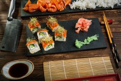 Special Salmon Roll image