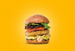 Chicken Caju Burger image