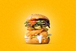 Crispy Shrimp Burger image