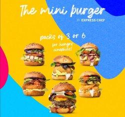 3 Pack MiniBurgers  image