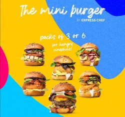 6 Pack MiniBurgers  image