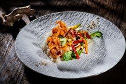 Shrimp Teriyaki Stir Fry image