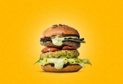 Vegetarian Burger image