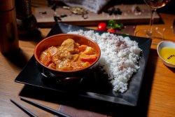 Massaman curry vegan image