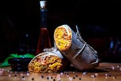 Tikka masala burrito image