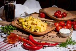 Cartofi prăjiţi cu jalapeno