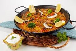 Paella vegetariană image