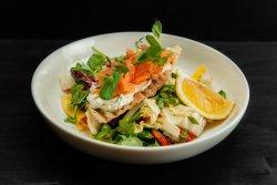 Smoked salmon salad 350g image