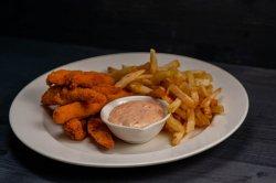 Crispy chicken fingers 200g/200g/50ml image