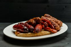 Sausages mixed grill  image