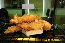 Meniu Șnițel in crustă de migdale + suc