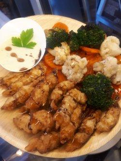 Meniu Pui Shangai + suc