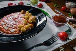 Supă cremă de ardei copți image