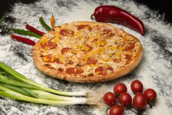 Pizza Chicken Cheese