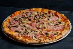 Pizza prosciutto & funghi 500g image