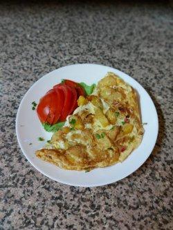 Omletă cu cartofi image
