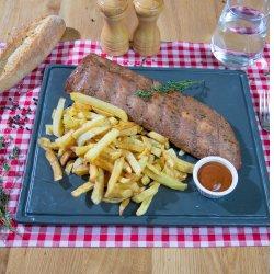 Coaste de porc la cuptor cu cartofi