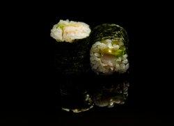Maki crevete-avocado image